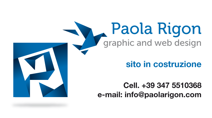 Paola Rigon Graphic And Web Design Coming Soon
